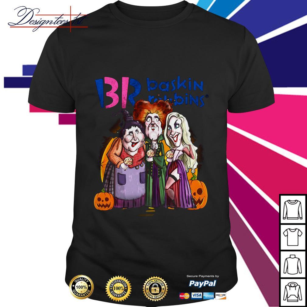 Hocus Pocus BR Baskin Robbins Halloween shirt