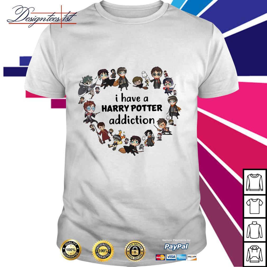 I have a Harry Potter addiction shirt