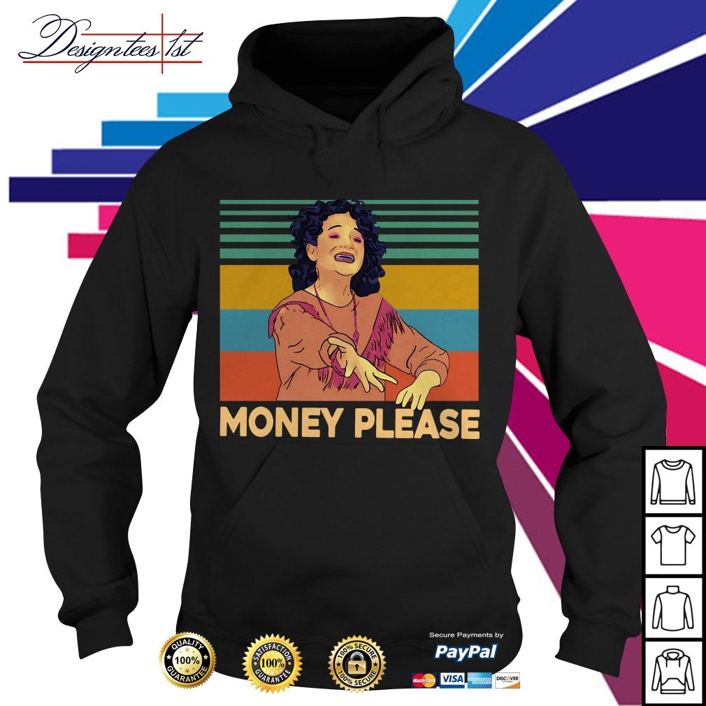 Jenny Slate money please vintage Hoodie