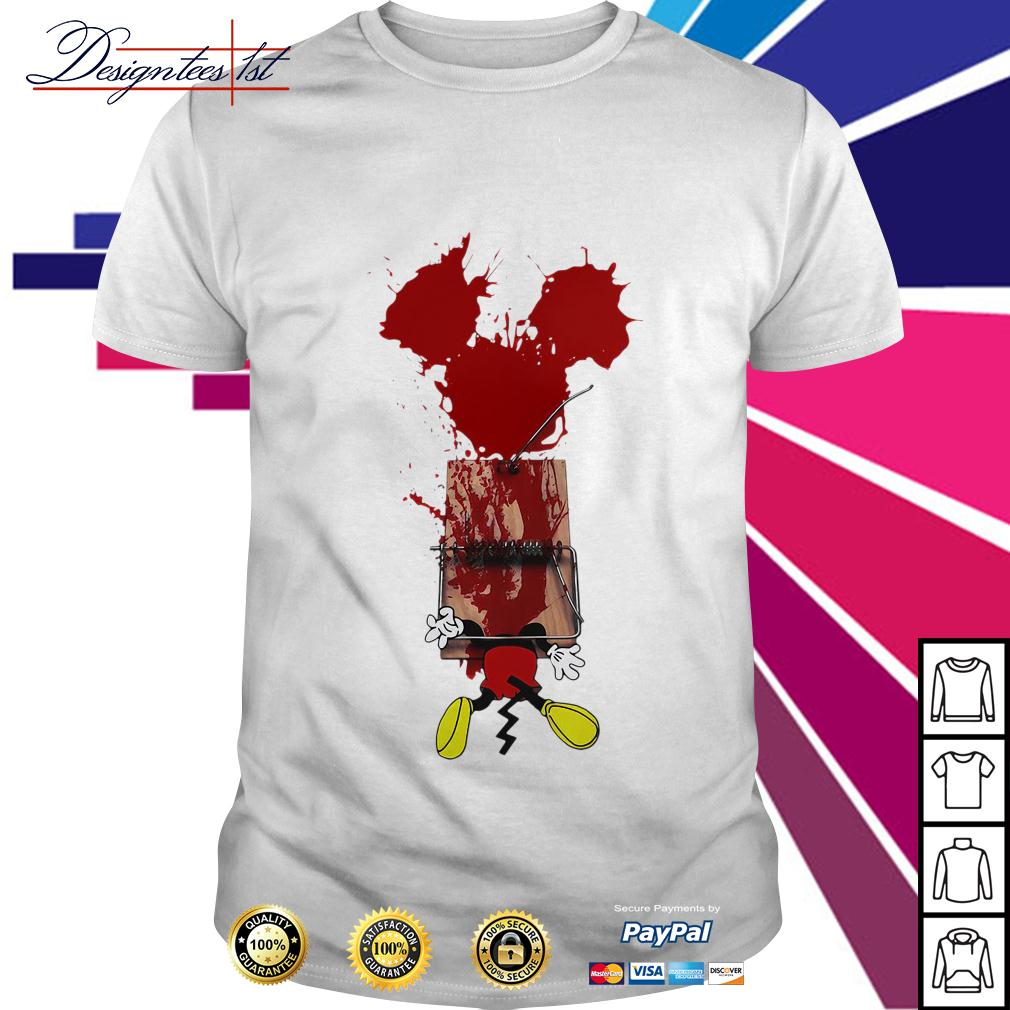 Mickey mouse trapped shirt