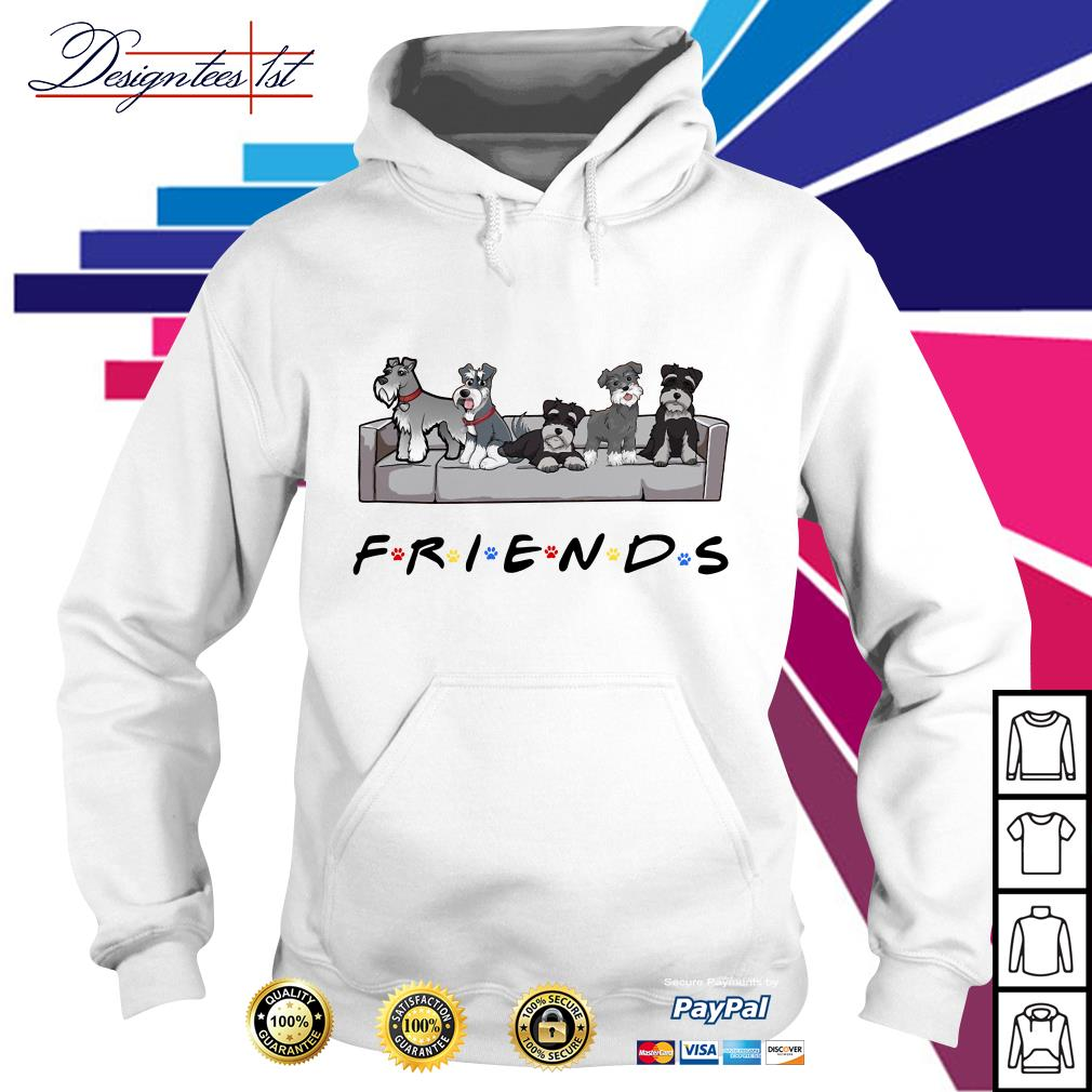 Miniature Schnauzer Friends TV show Hoodie