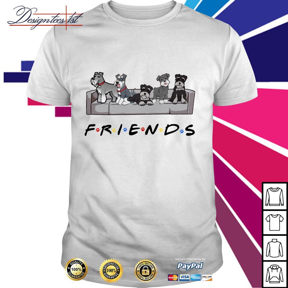 Miniature Schnauzer Friends TV show shirt