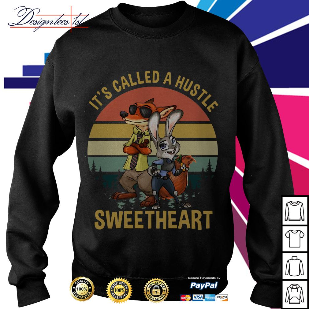 Nick and Judy it's called a hustle sweetheart vintage Sweater
