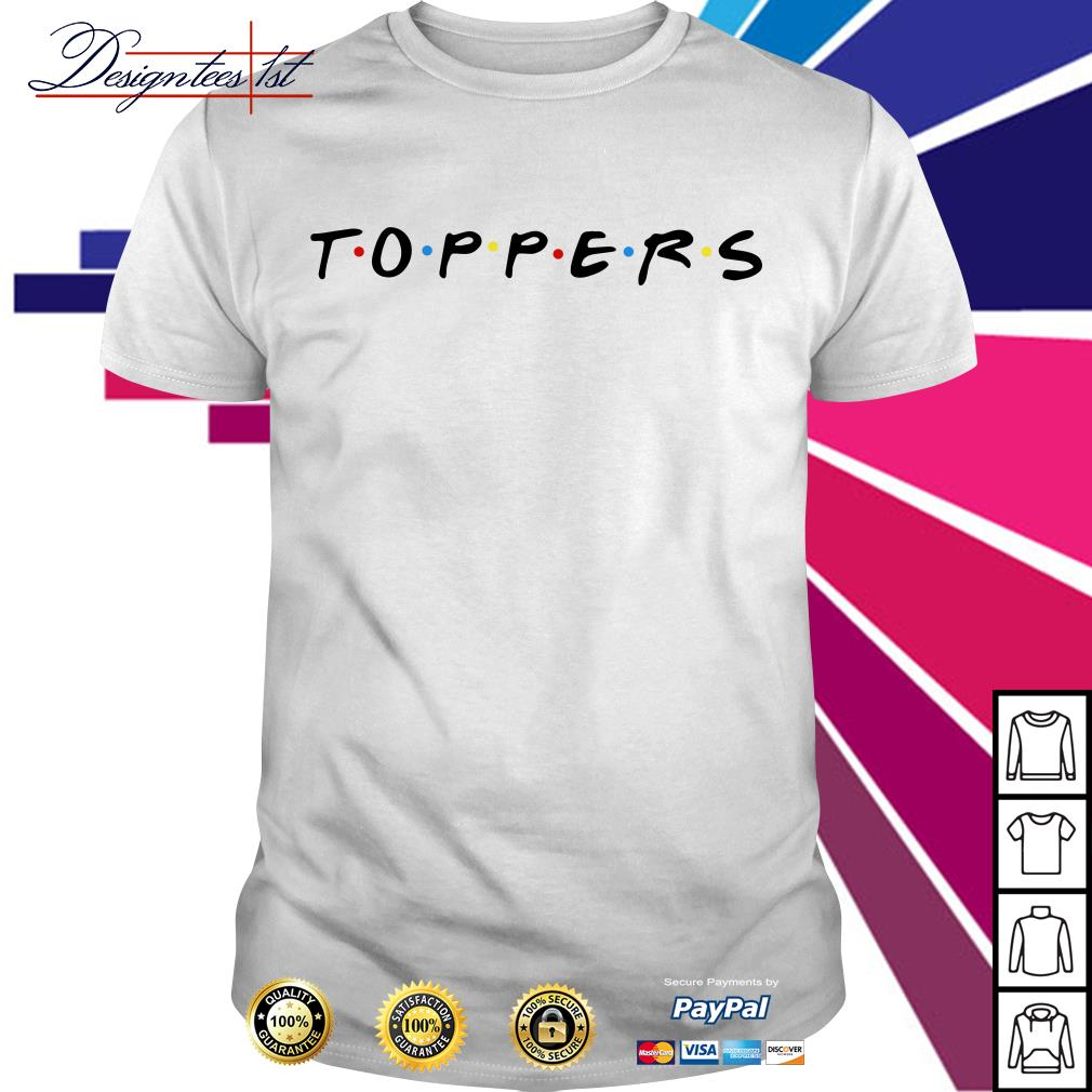 Official toppers shirt