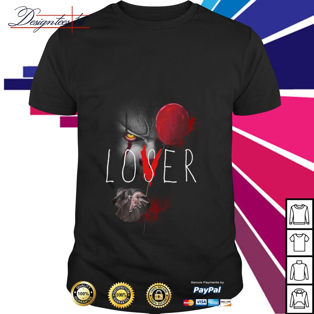 Pennywise IT lover loser shirt