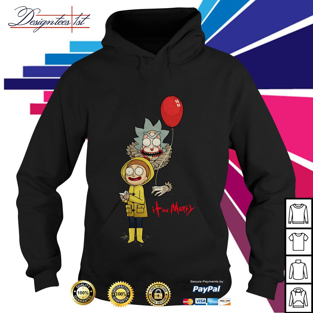 Rick and Morty - IT movie and Morty Hoodie