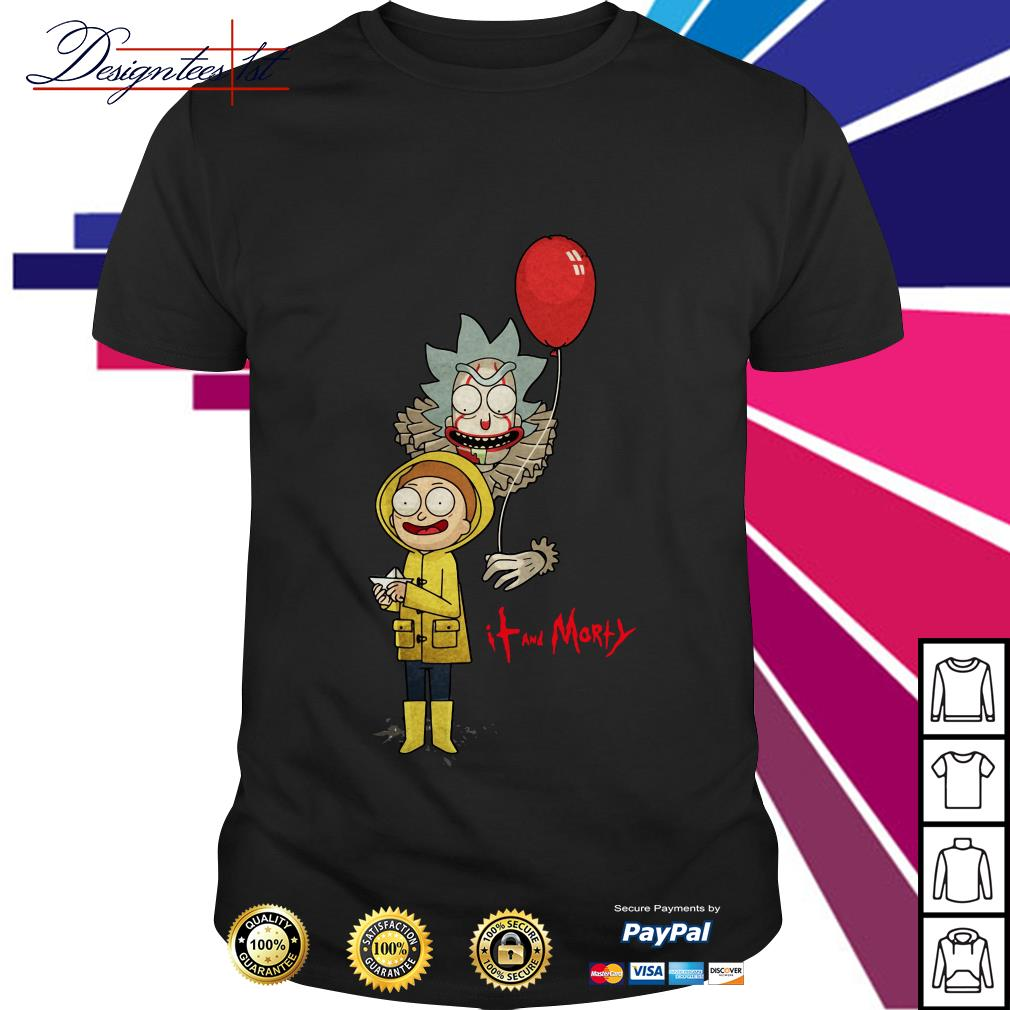 Rick and Morty - IT movie and Morty shirt