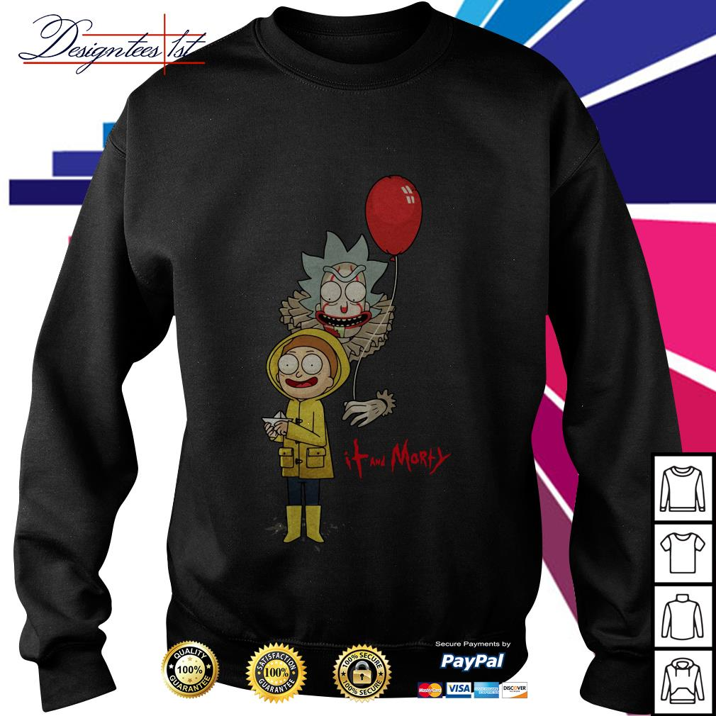 Rick and Morty - IT movie and Morty Sweater