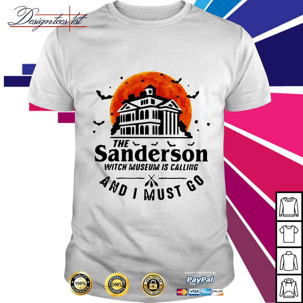 The Sanderson witch museum is calling and I must go shirt