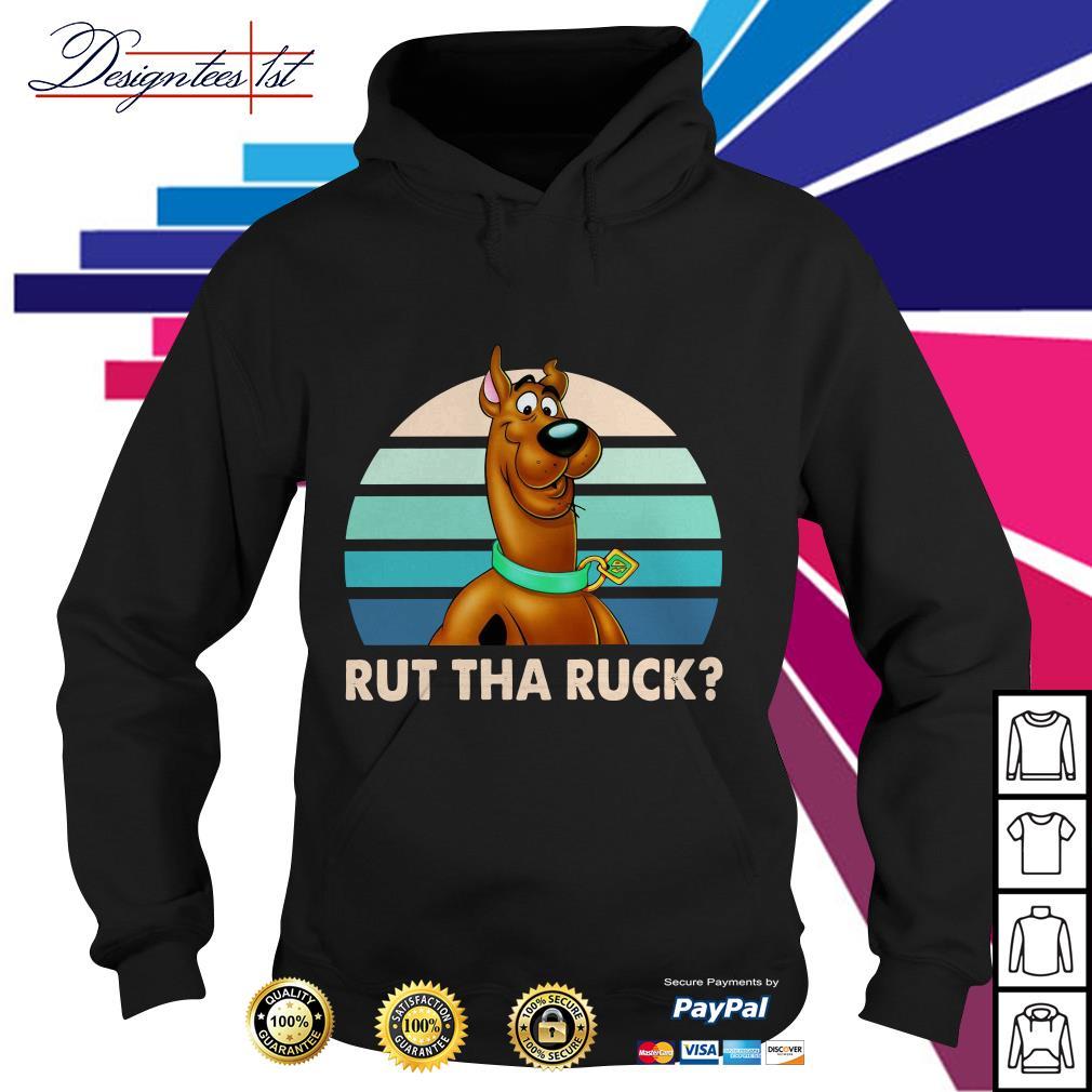 Scooby Doo rut tha ruck vintage version2 Hoodie