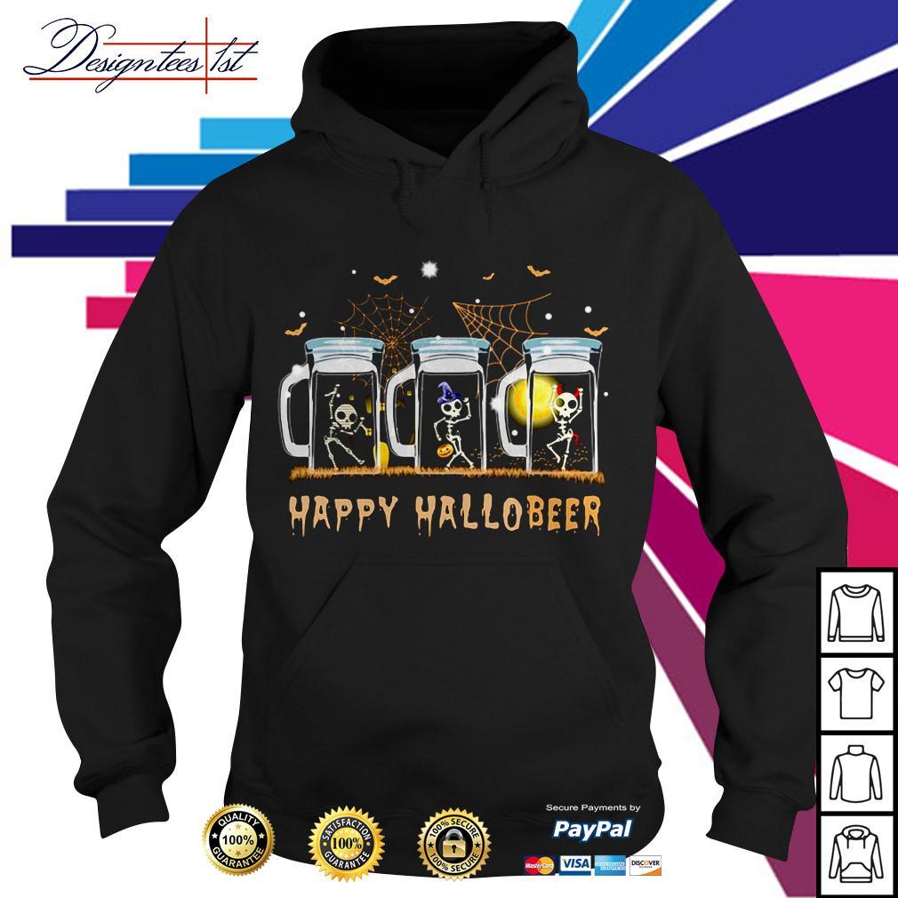 Skeleton dance happy Hallobeer Hoodie