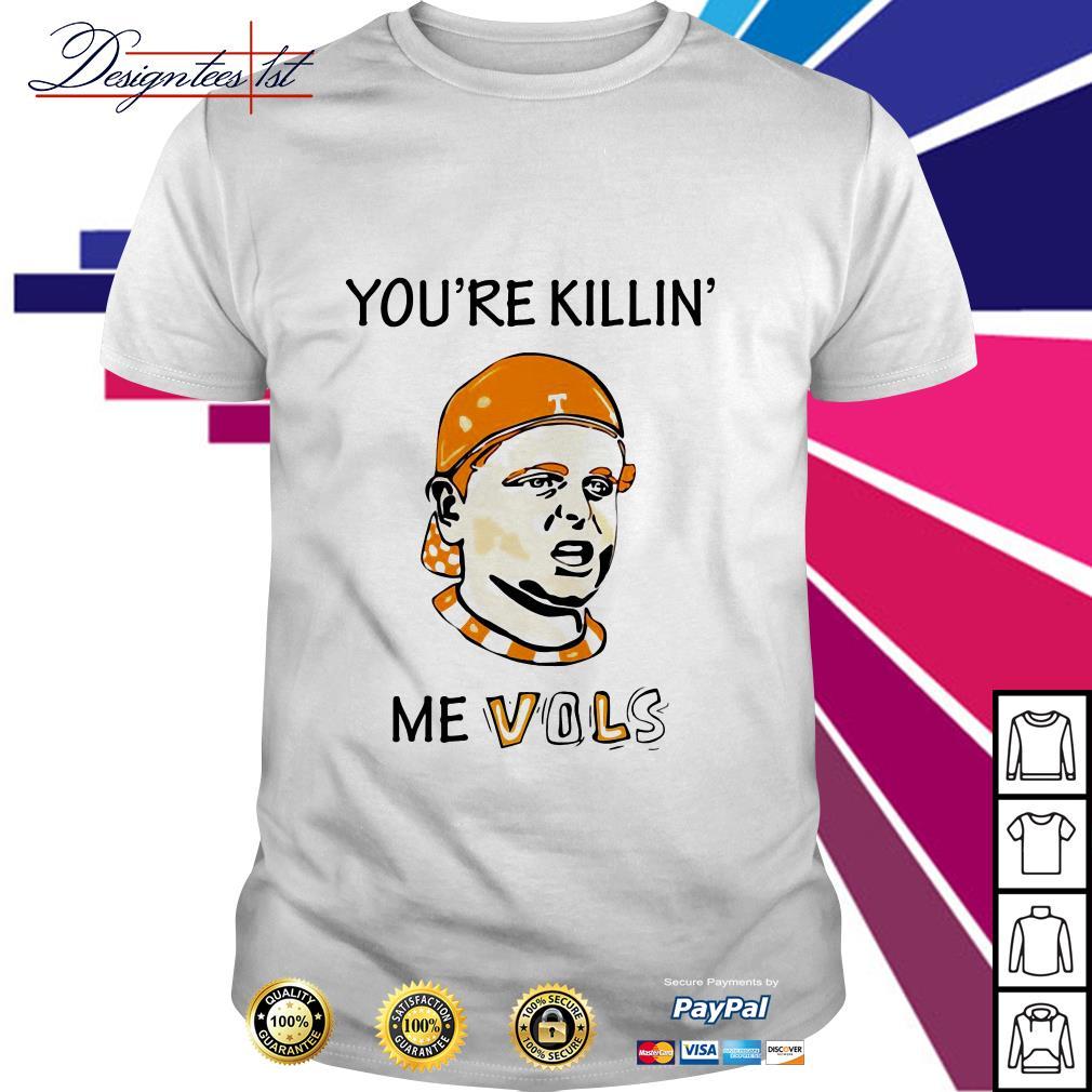 The Sandlot you're killin' me vols shirt