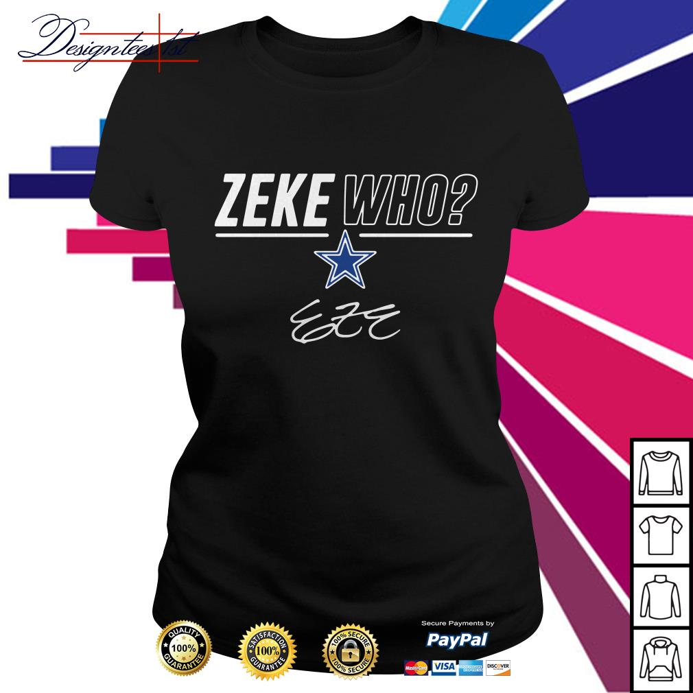 Zeke Who signature Ladies Tee