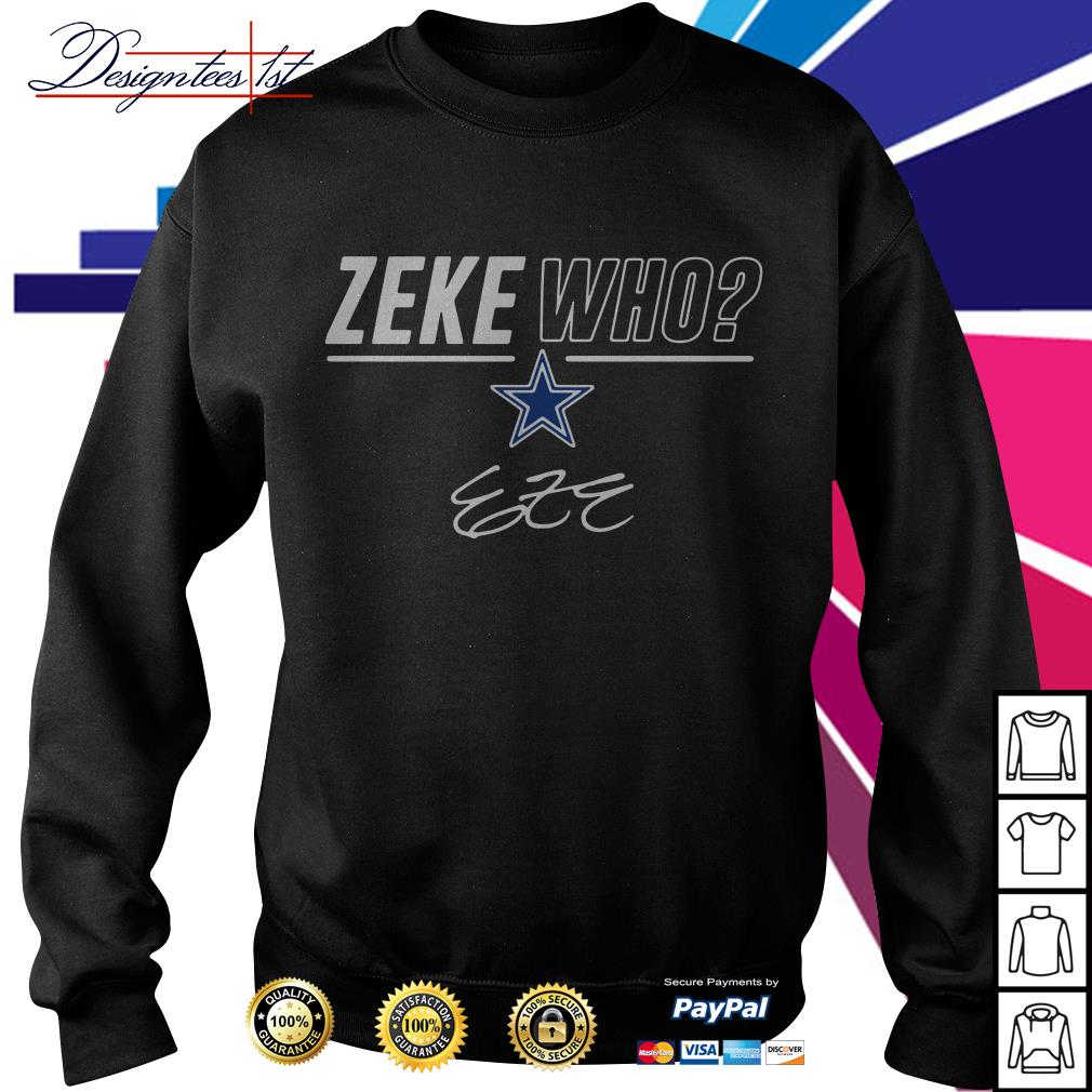 Zeke Who signature Sweater