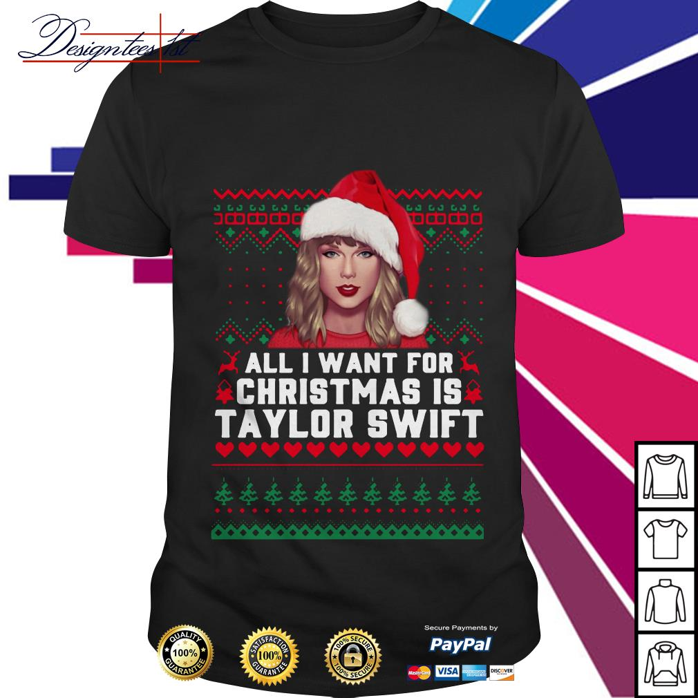 All I want for Christmas is Taylor Swift shirt, sweater