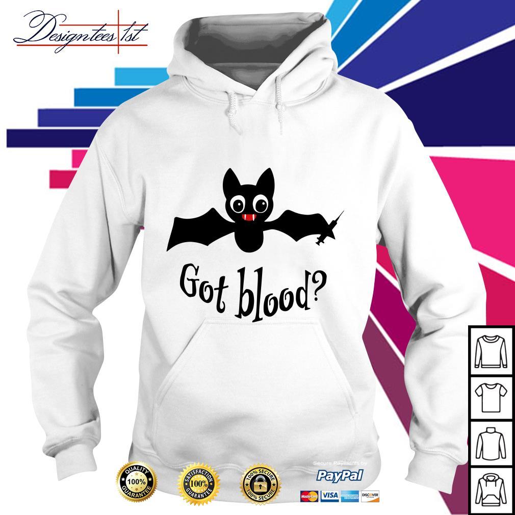 Bat got blood Hoodie