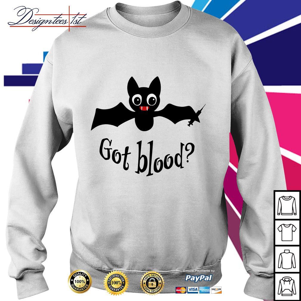 Bat got blood Sweater