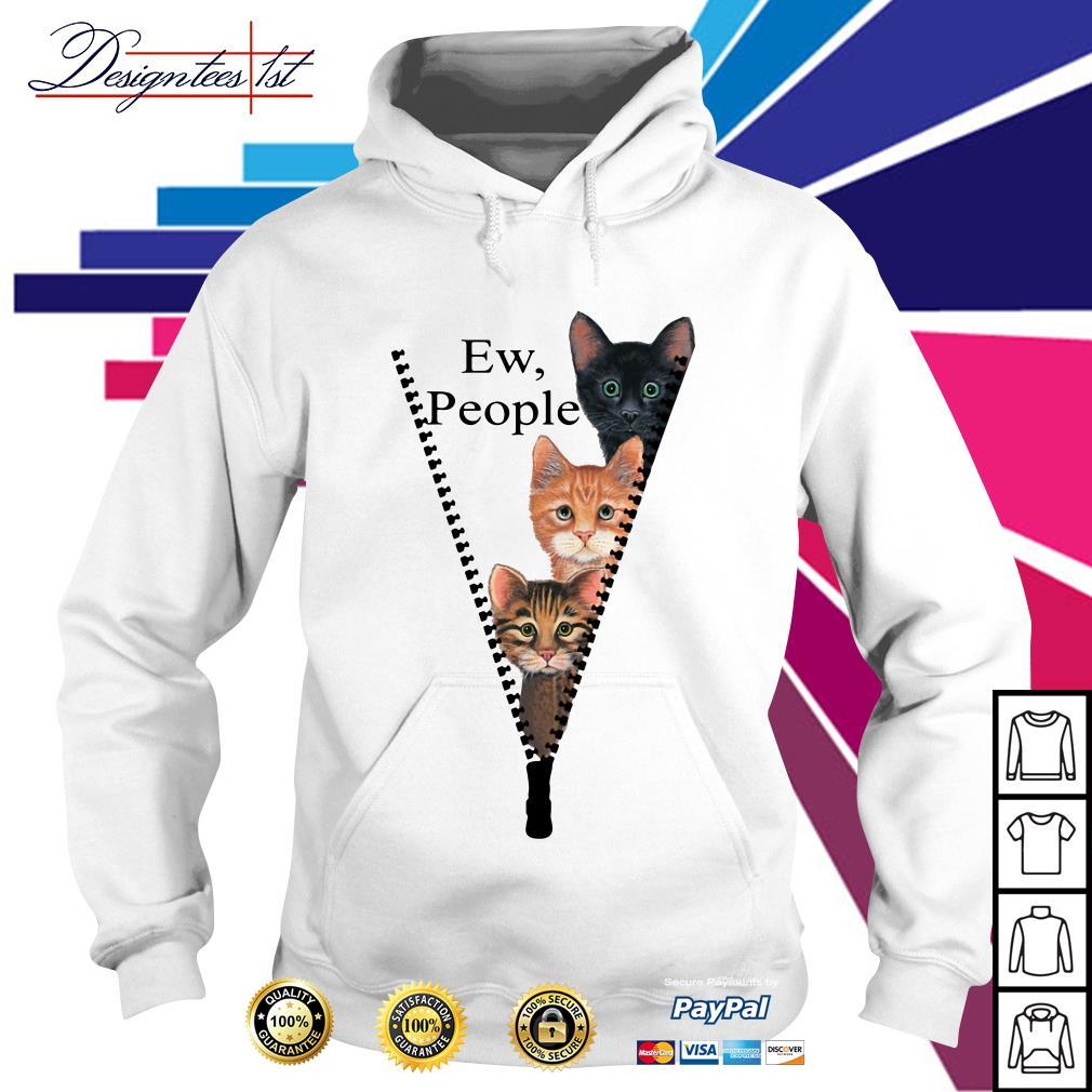 Cat ew people Hoodie