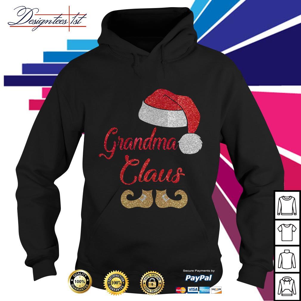 Diamond grandma Claus Hoodie