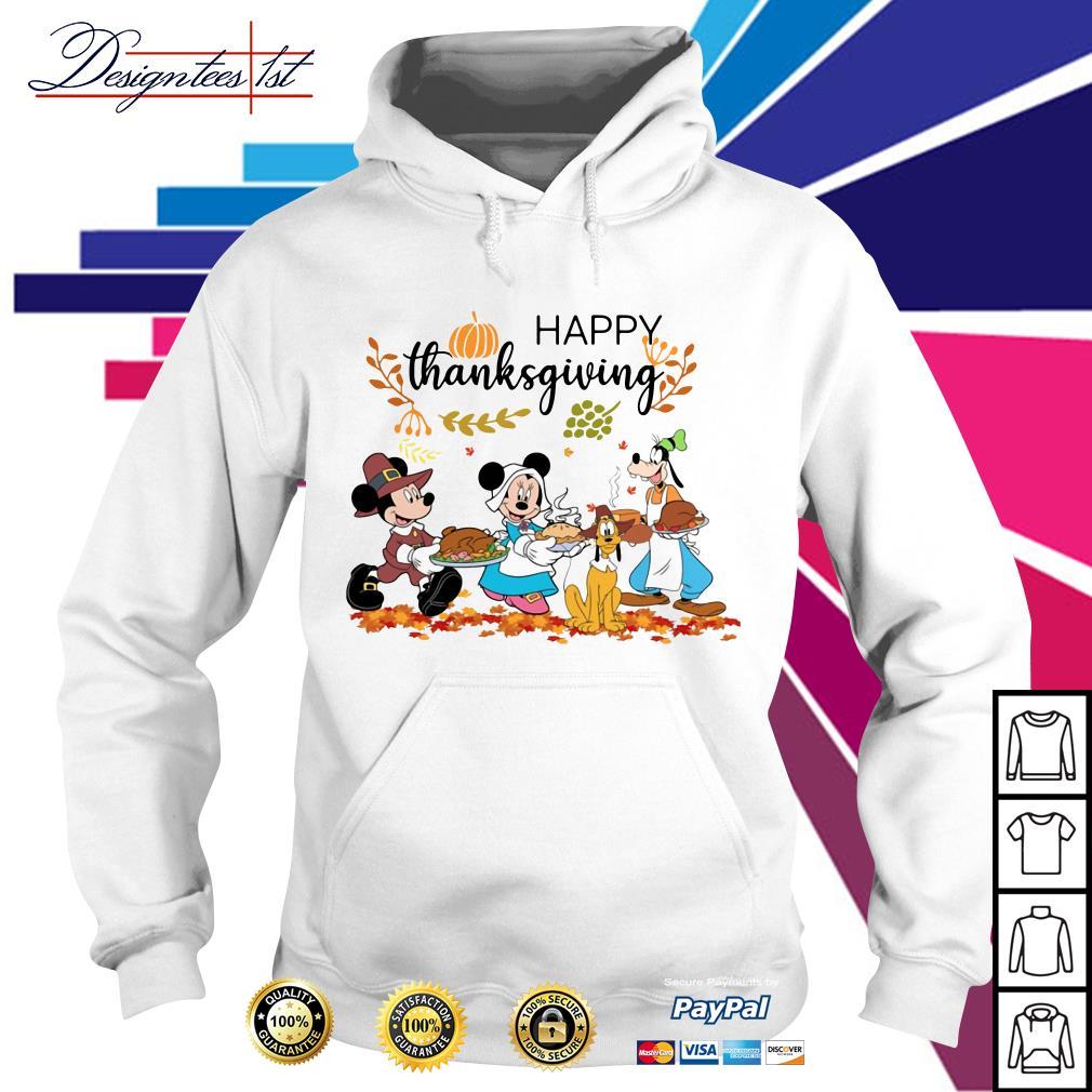 Disney happy thanksgiving Hoodie