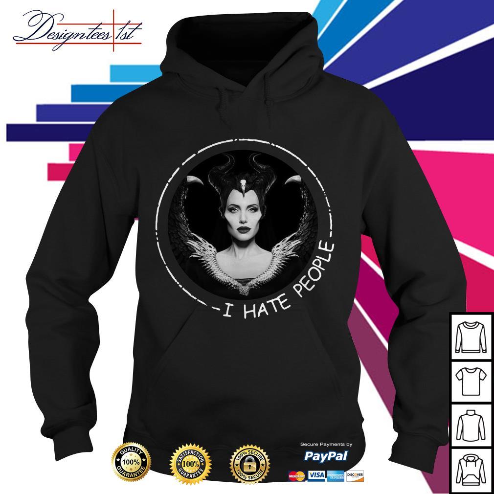 Disney Maleficent I hate people Hoodie