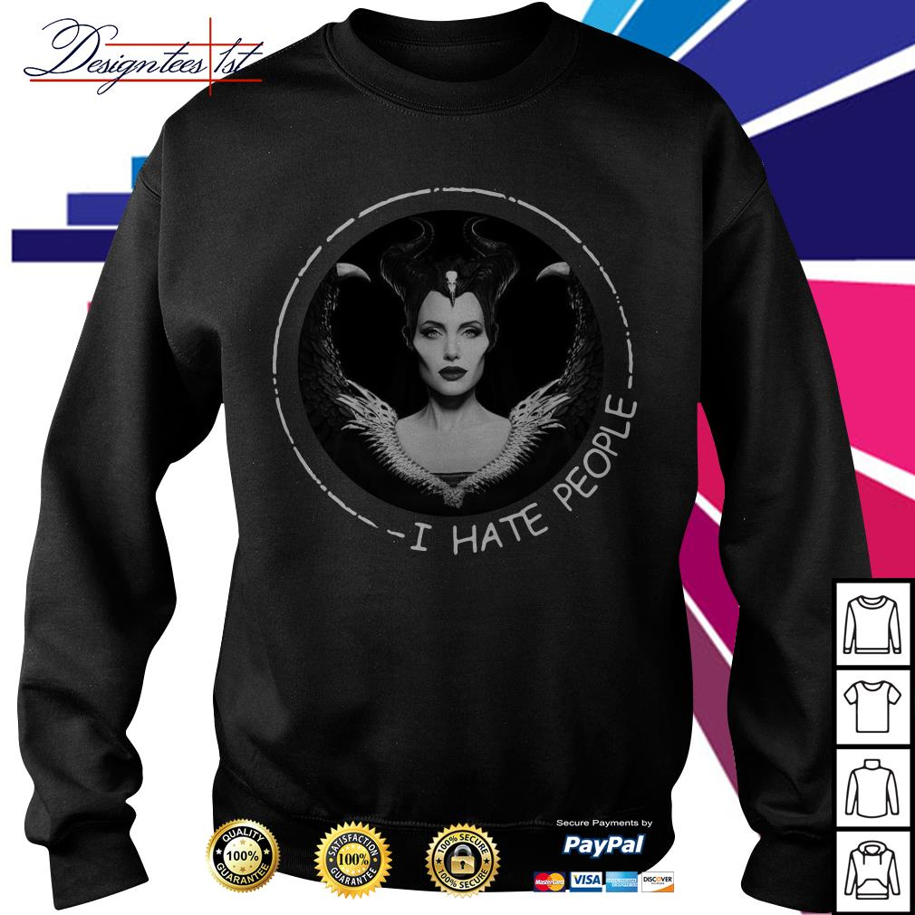 Disney Maleficent I hate people Sweater