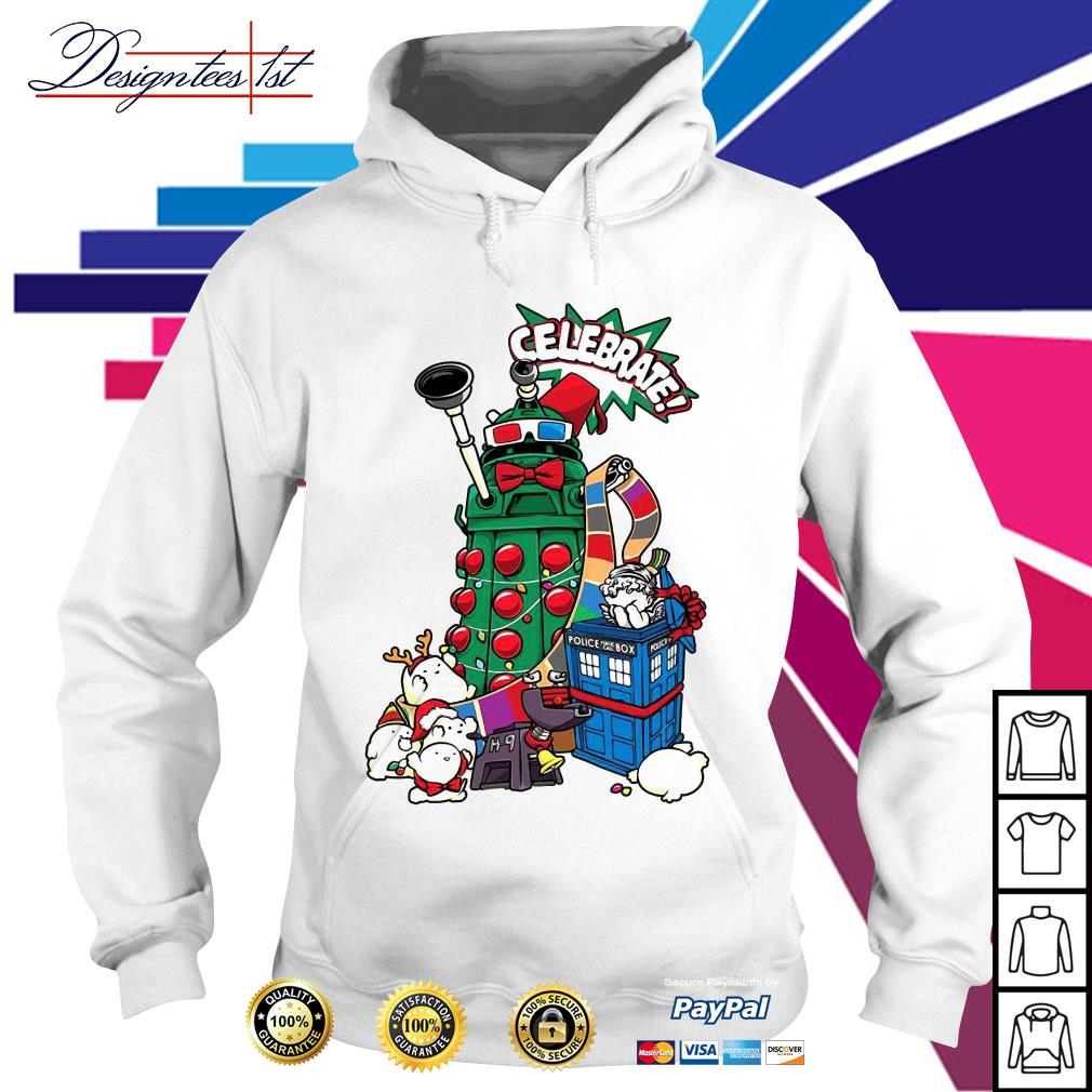 Doctor Who celebrates Christmas Hoodie