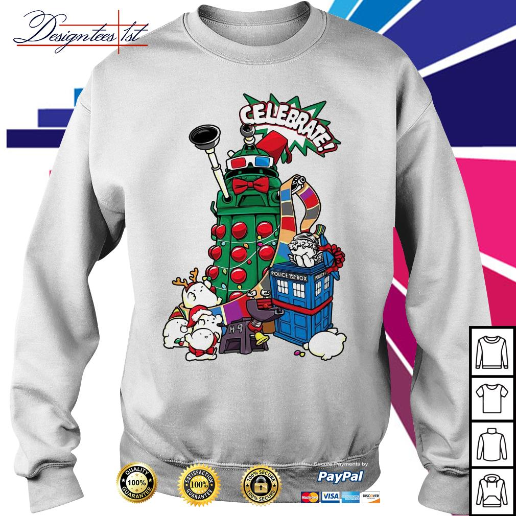 Doctor Who celebrates Christmas shirt, sweater