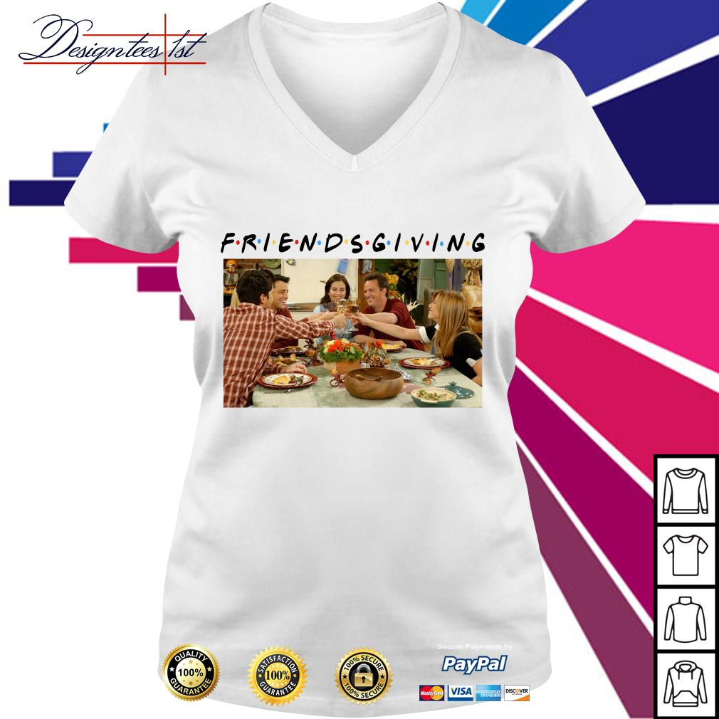 Friends TV show Friendsgiving V-neck T-shirt