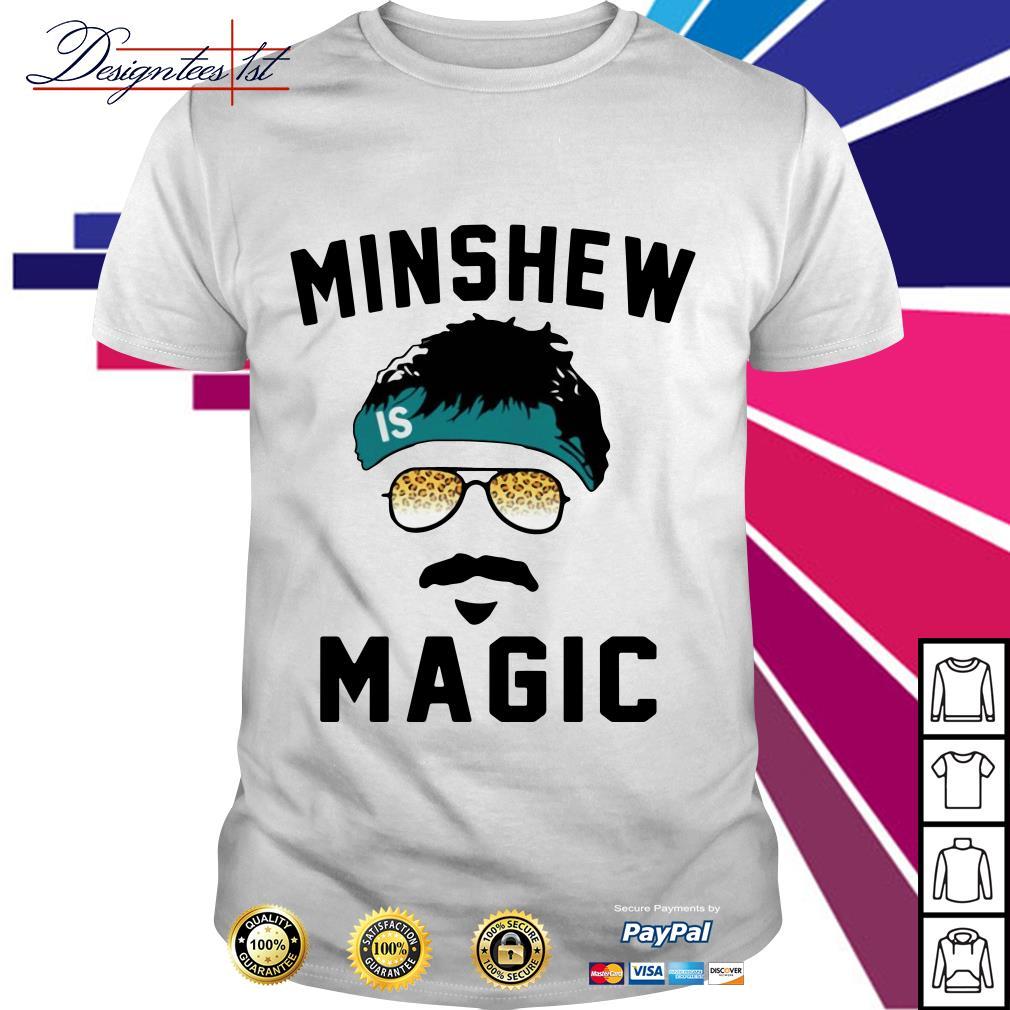 Gardner Minshew Magic shirt