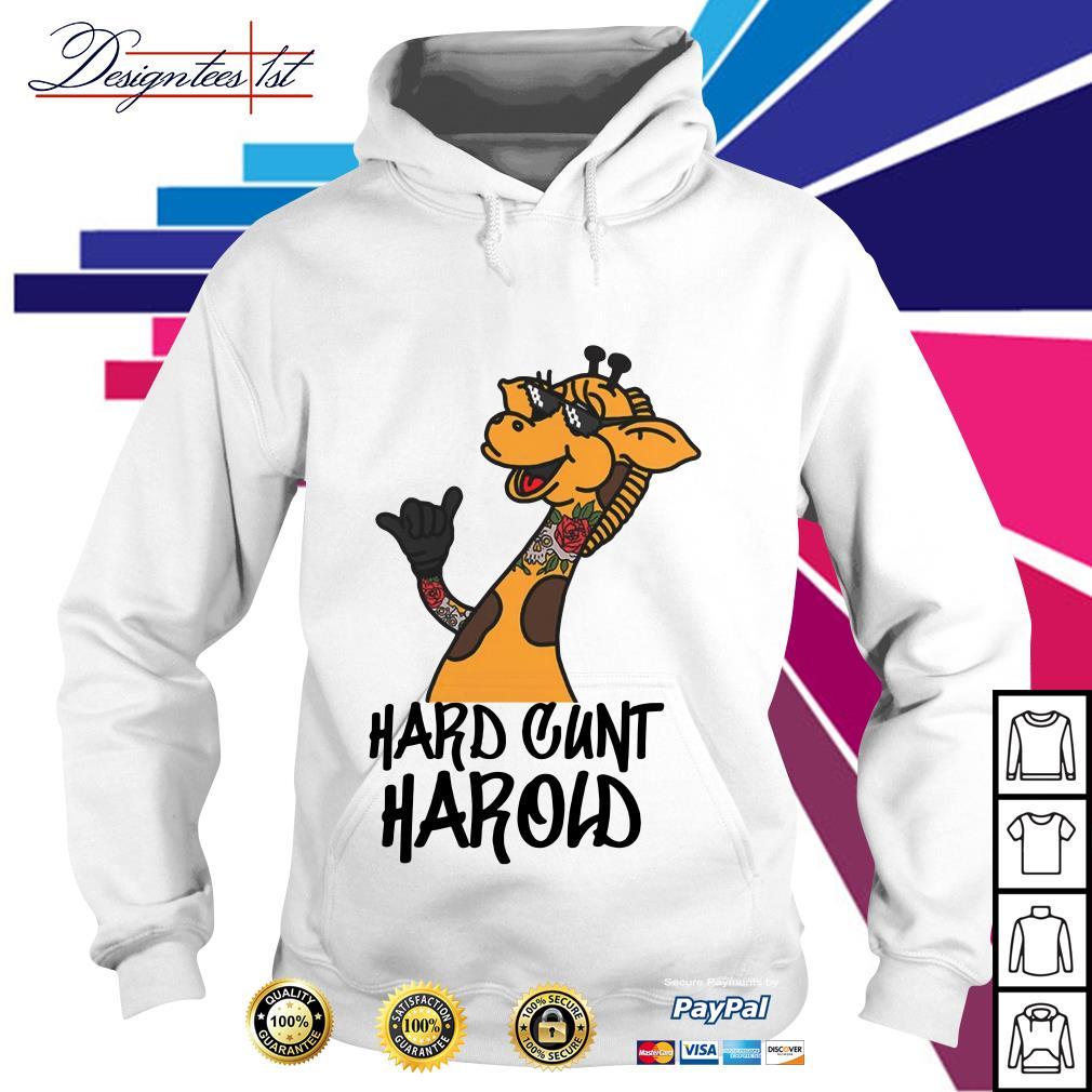 Giraffe hard cunt harold Hoodie