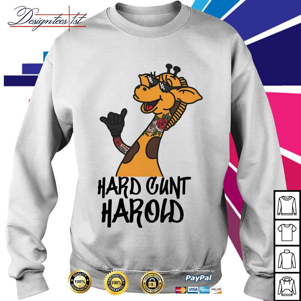 Giraffe hard cunt harold Sweater
