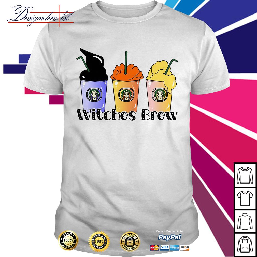 Halloween Hocus Pocus Starbuck Witches Brew shirt