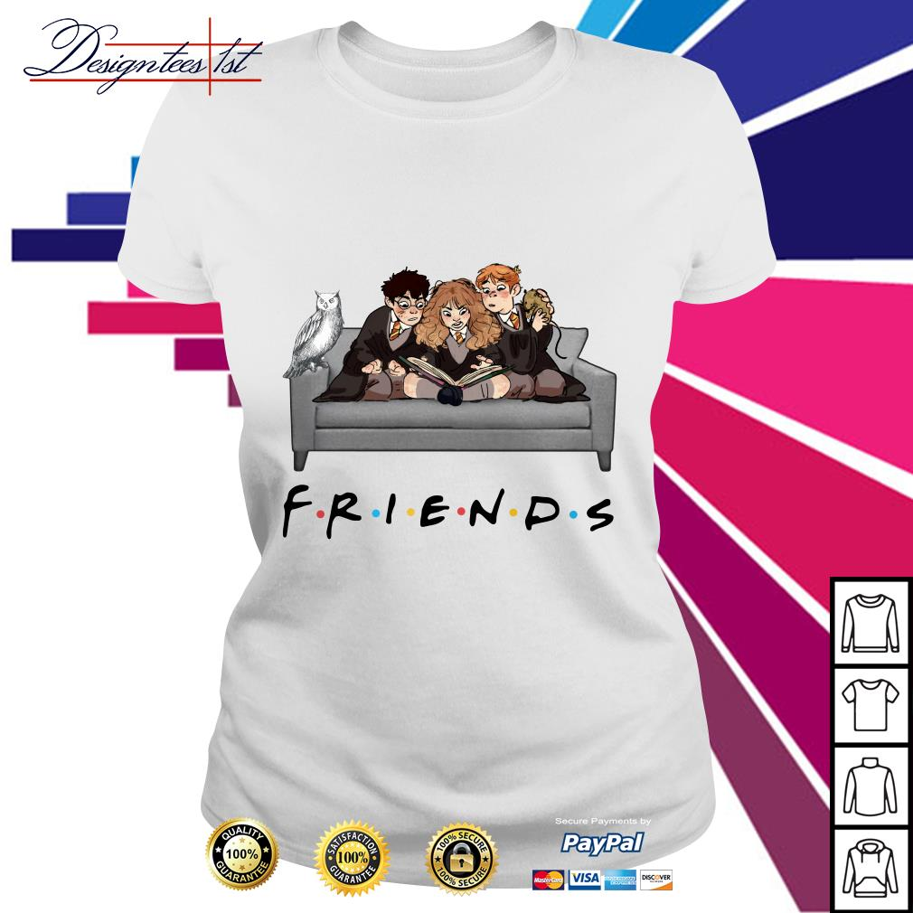 Harry Potter character Friends TV Show Ladies Tee
