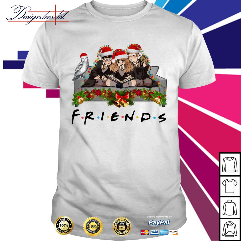 Harry Potter Hermione and Ron Weasley Christmas friends TV show shirt, sweater