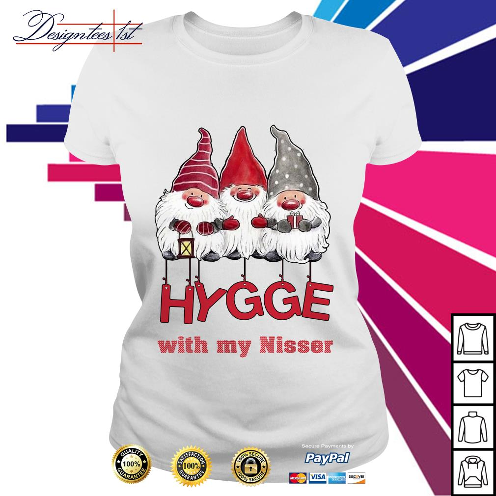 Hygge with my nisser Christmas Ladies Tee