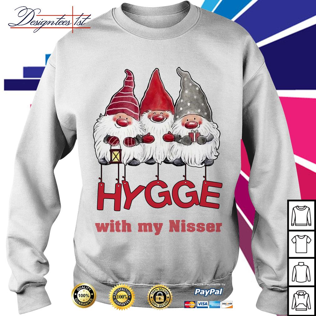 Hygge with my nisser Christmas shirt, sweater