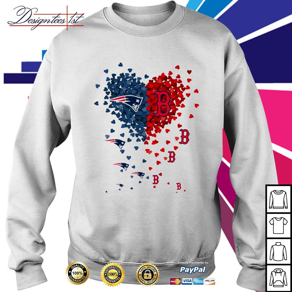 I love New England Patriots Boston Red Sox Sweater