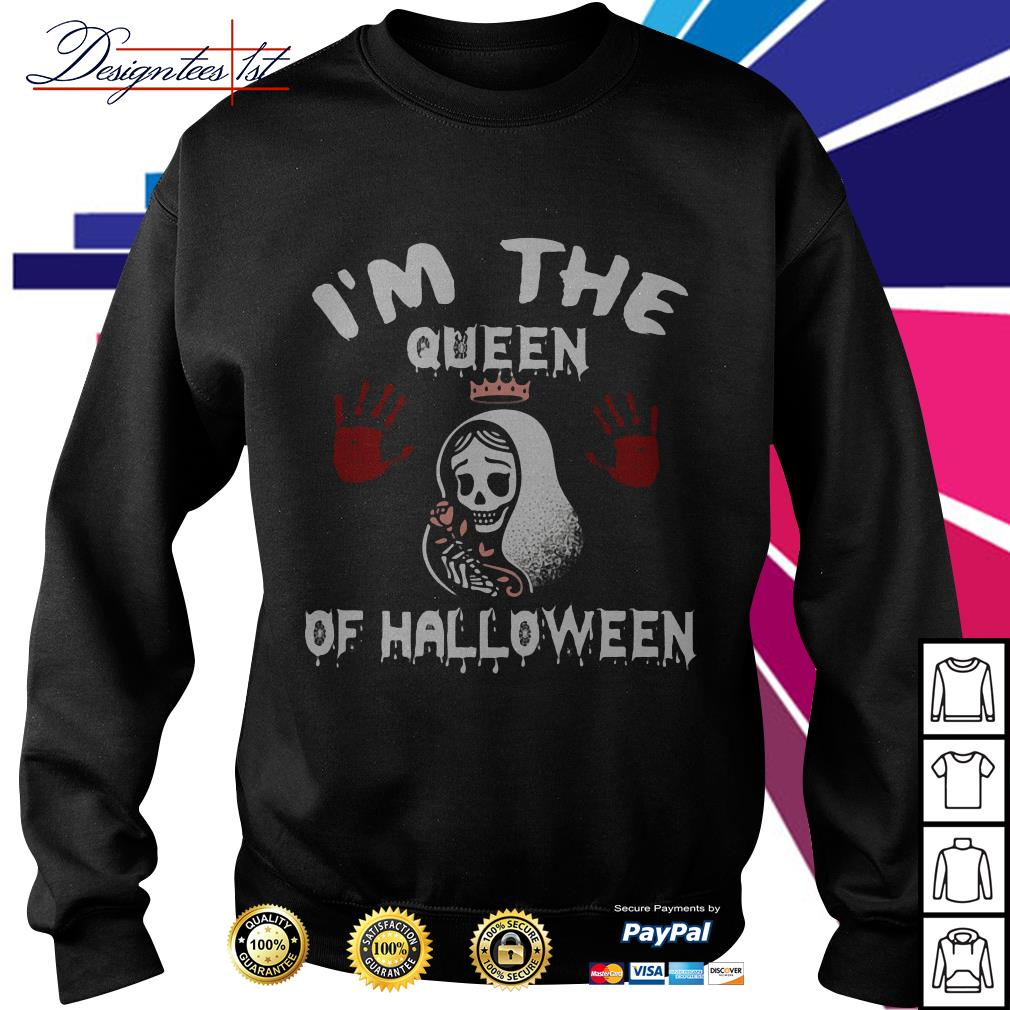 I'm the queen of Halloween Sweater