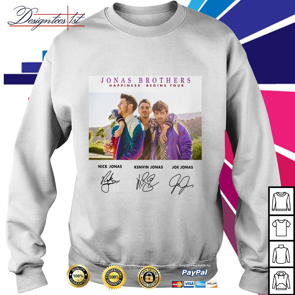 Jonas Brothers happiness begins tour signature Sweater