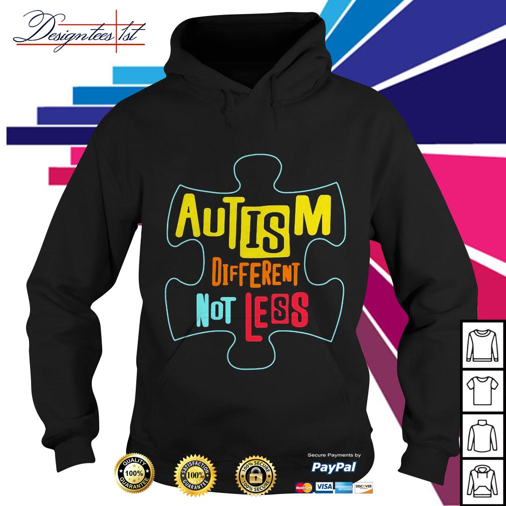 Lego autism different not less Hoodie