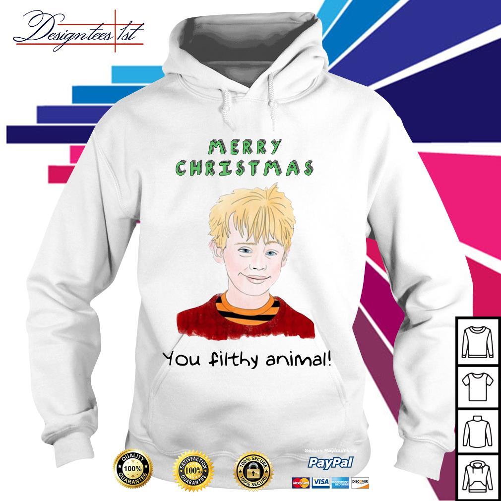 Merry Christmas Kevin Macaulay Culkin you filthy animal Hoodie