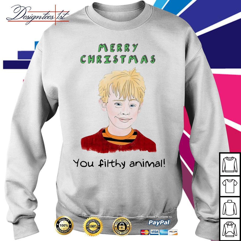 Merry Christmas Kevin Macaulay Culkin you filthy animal shirt, sweater