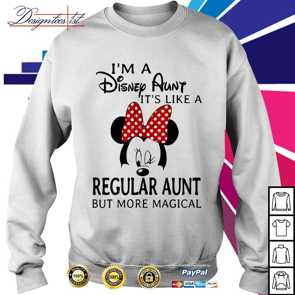 Mickey mouse I'm a Disney Aunt it's like a regular aunt but more magical Sweater