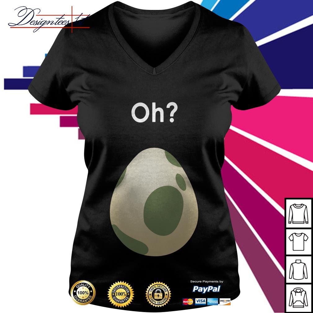 Pokemon egg Maternity V-neck T-shirt