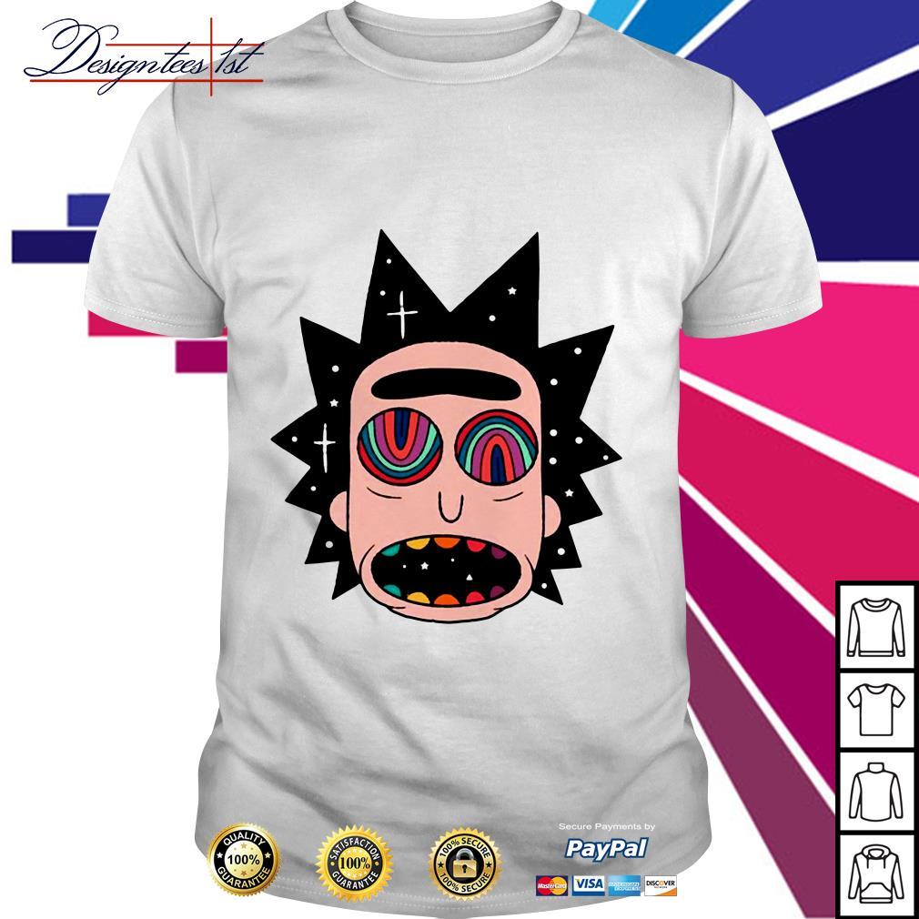 Rick and Morty Rick Fried shirt