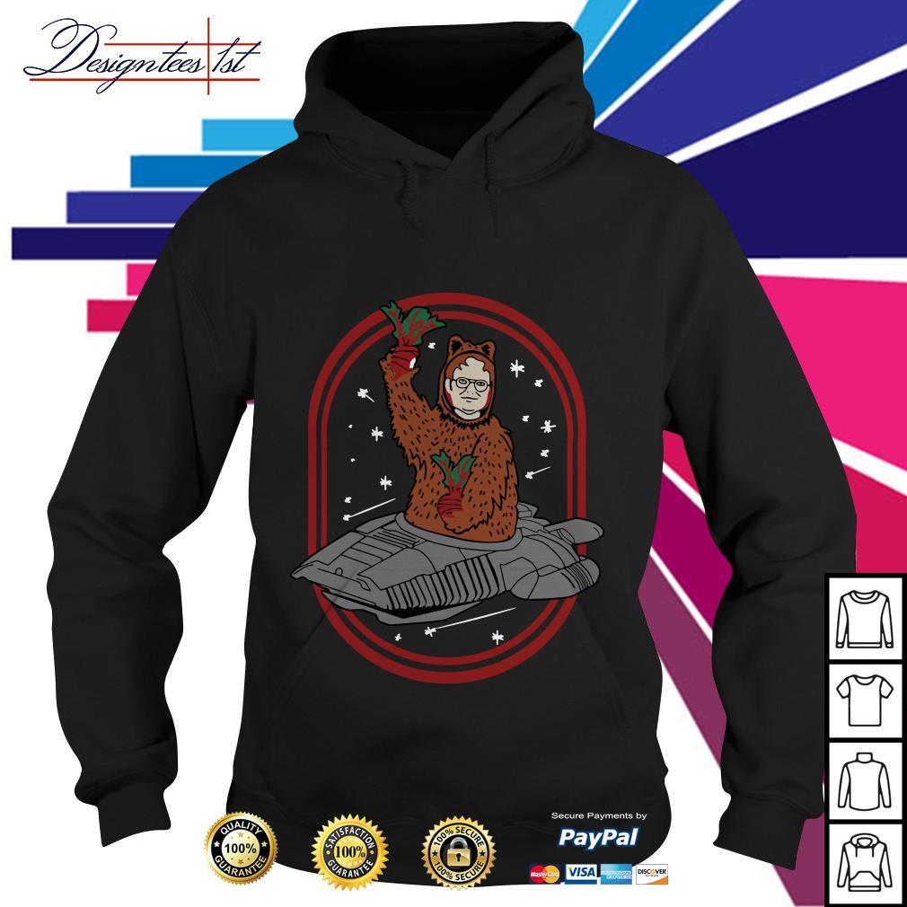 Zoko Apparel Bears beets Battlestar Galactica Dwight Schrute Hoodie