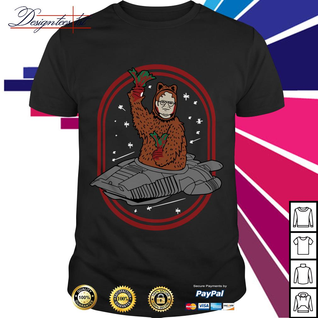 Zoko Apparel Bears beets Battlestar Galactica Dwight Schrute shirt