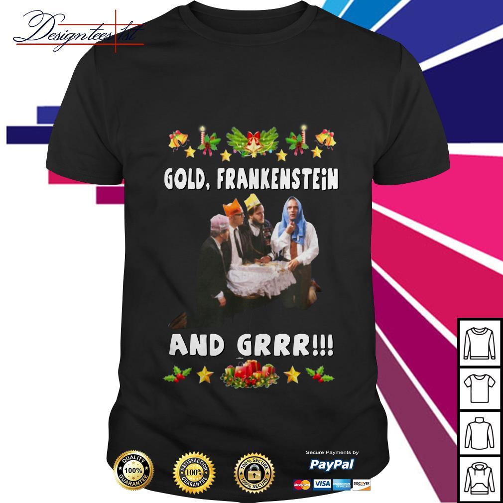 Bottom Richie and Eddie Gold Frankenstein and grrr