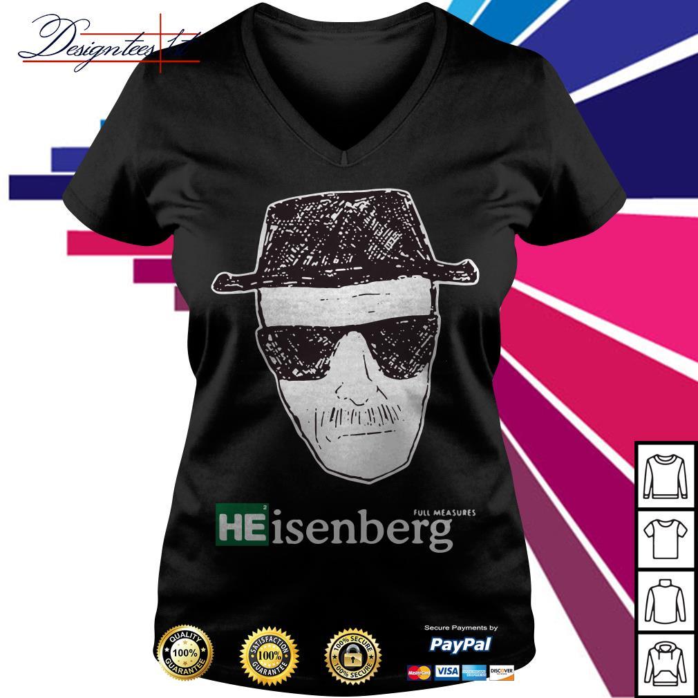 Breaking Bad Heisenberg Measures V-neck T-shirt